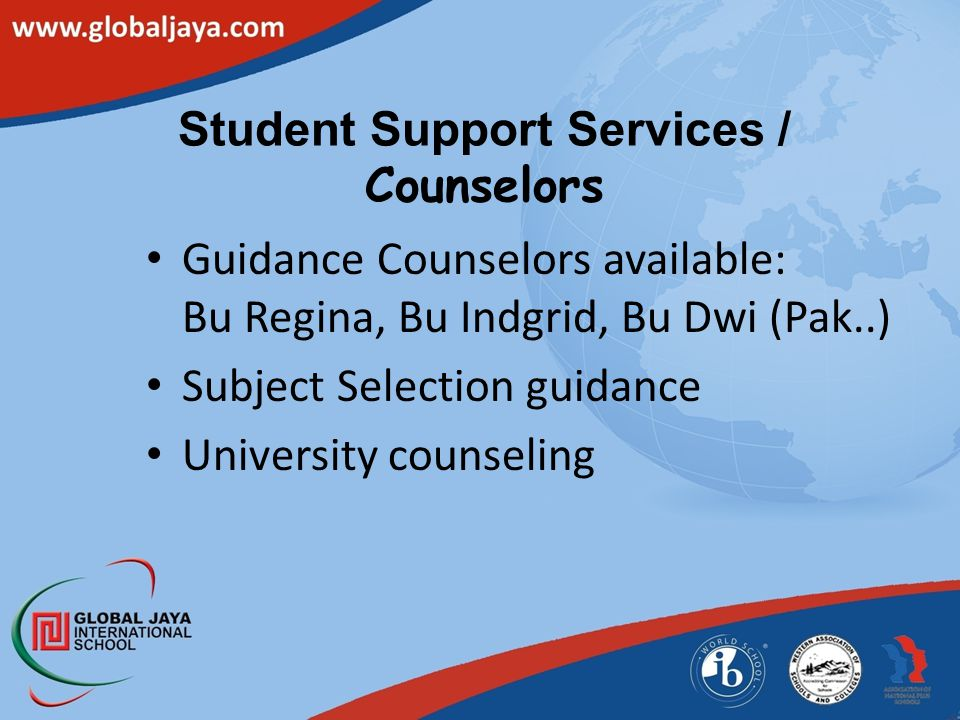 Student Support Services / Counselors
