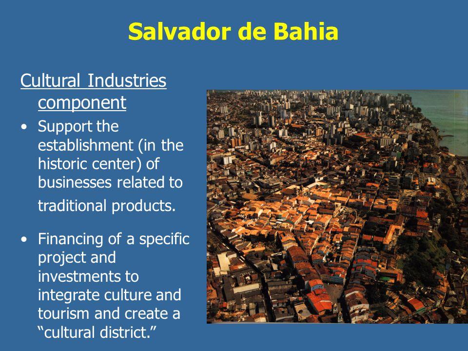 Salvador de Bahia Cultural Industries component