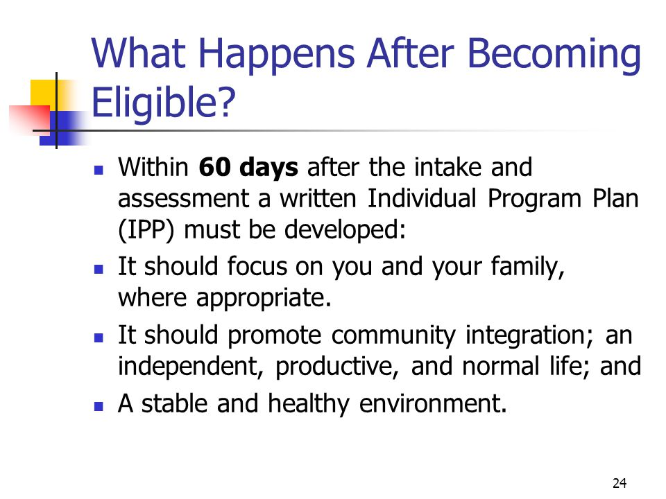 What Happens After Becoming Eligible
