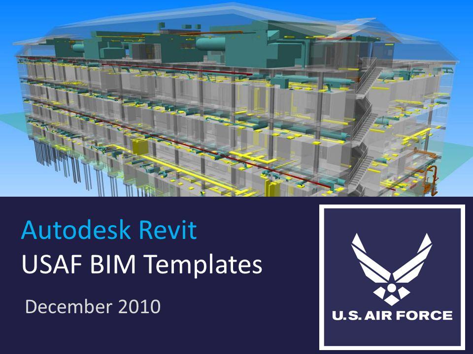 Autodesk Revit USAF BIM Templates