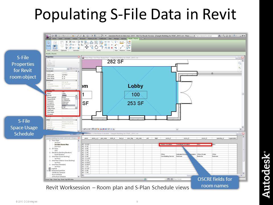 Populating S-File Data in Revit
