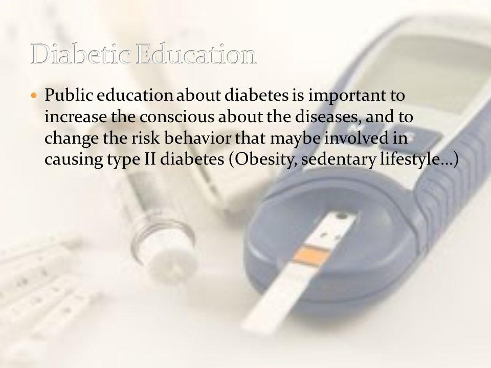 Diabetic Education