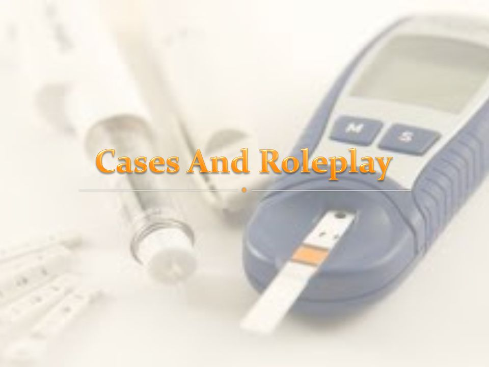 Cases And Roleplay