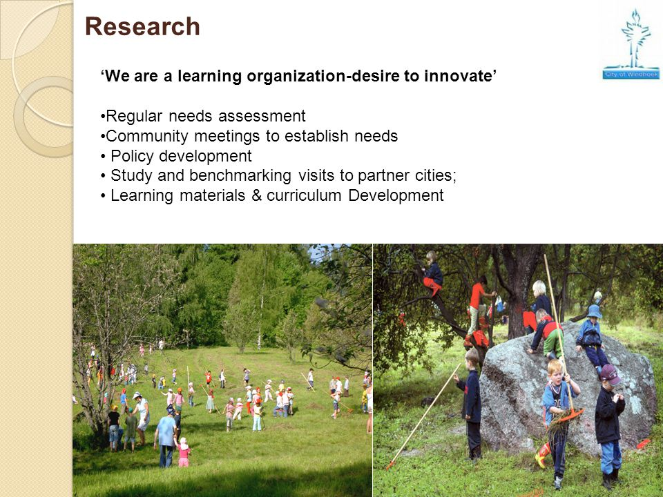 Research 'We are a learning organization-desire to innovate'