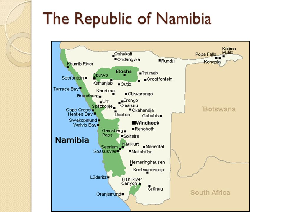 The Republic of Namibia