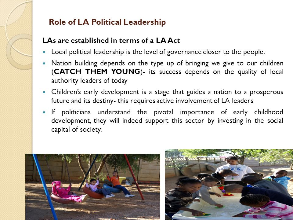 Role of LA Political Leadership
