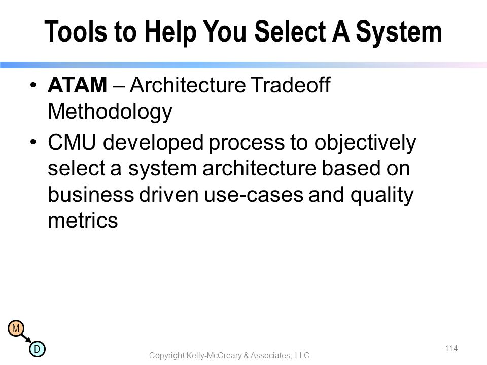 Tools to Help You Select A System