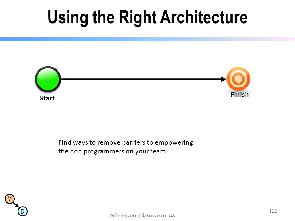 Using the Right Architecture