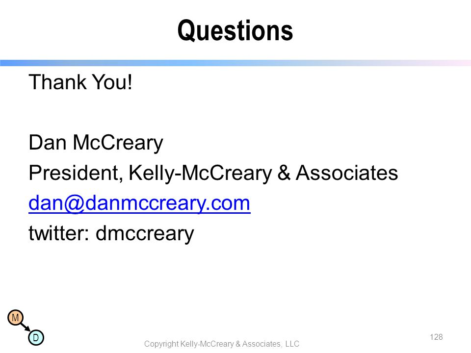 Copyright Kelly-McCreary & Associates, LLC
