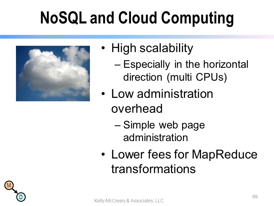 NoSQL and Cloud Computing