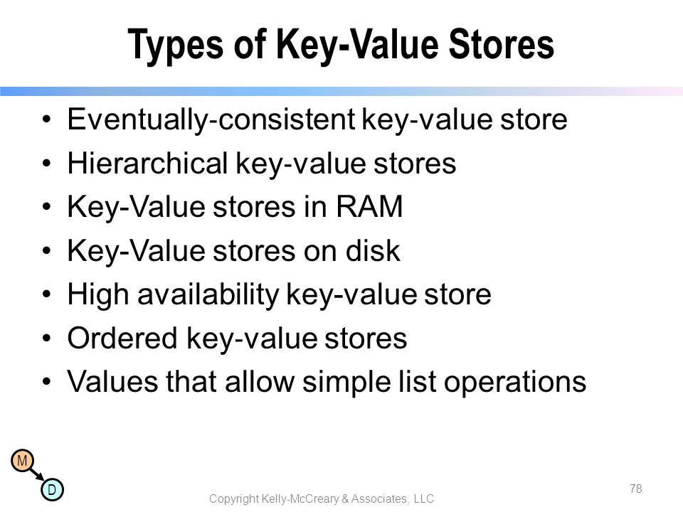 Types of Key-Value Stores