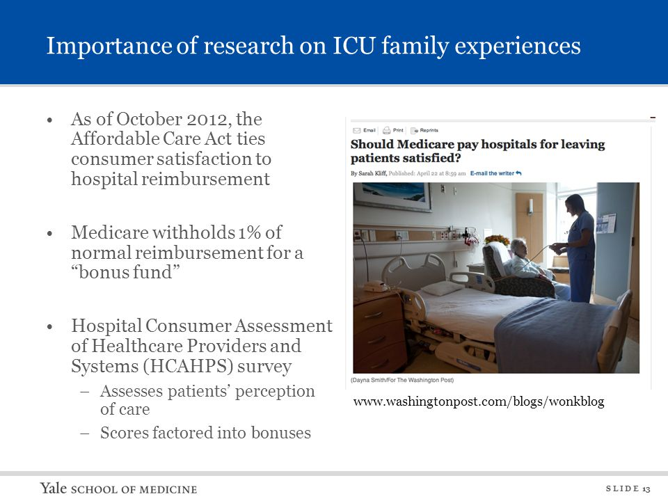 Importance of research on ICU family experiences