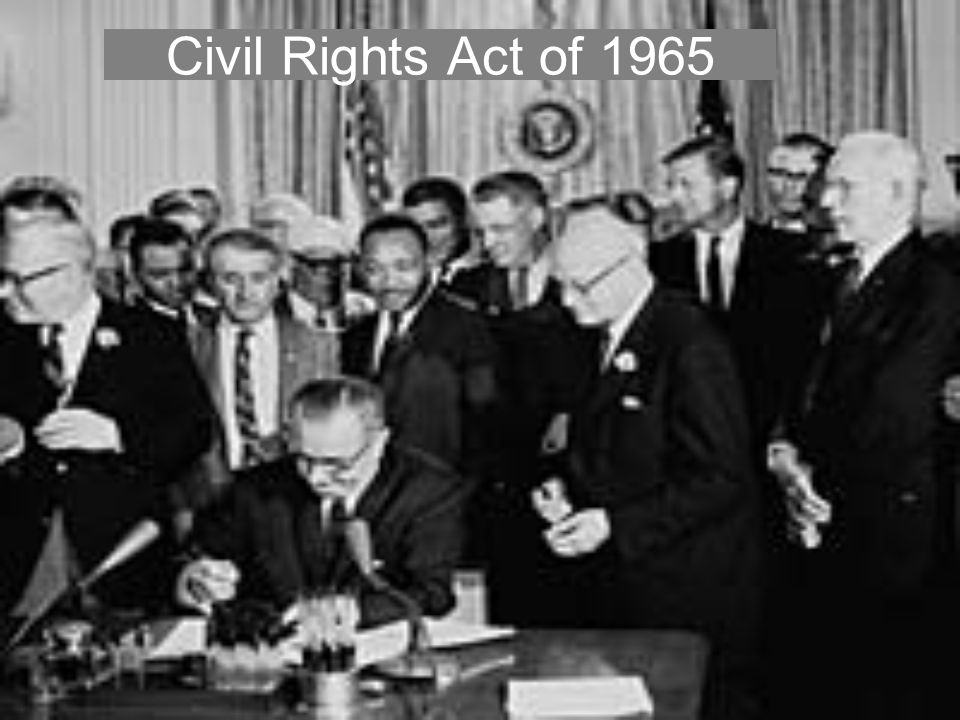 Civil Rights Act of 1965