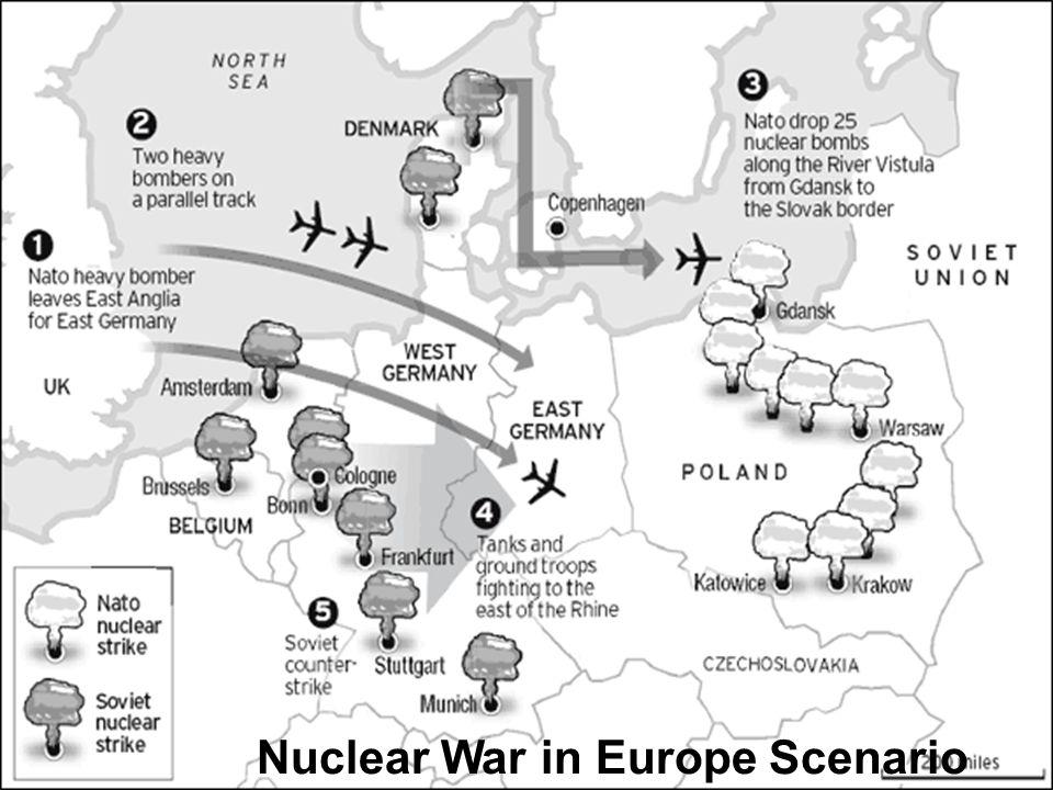 Nuclear War in Europe Scenario