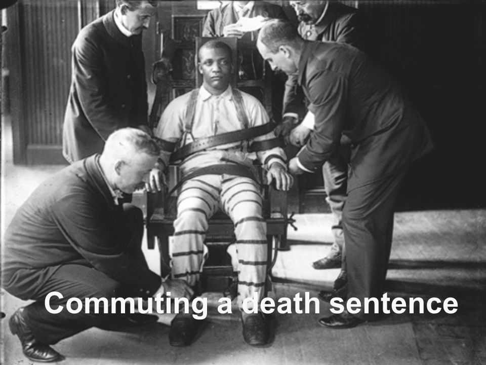 Commuting a death sentence
