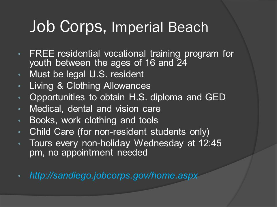 Job Corps, Imperial Beach