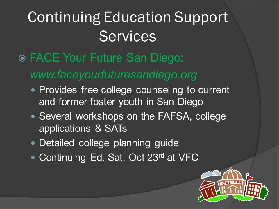 Continuing Education Support Services