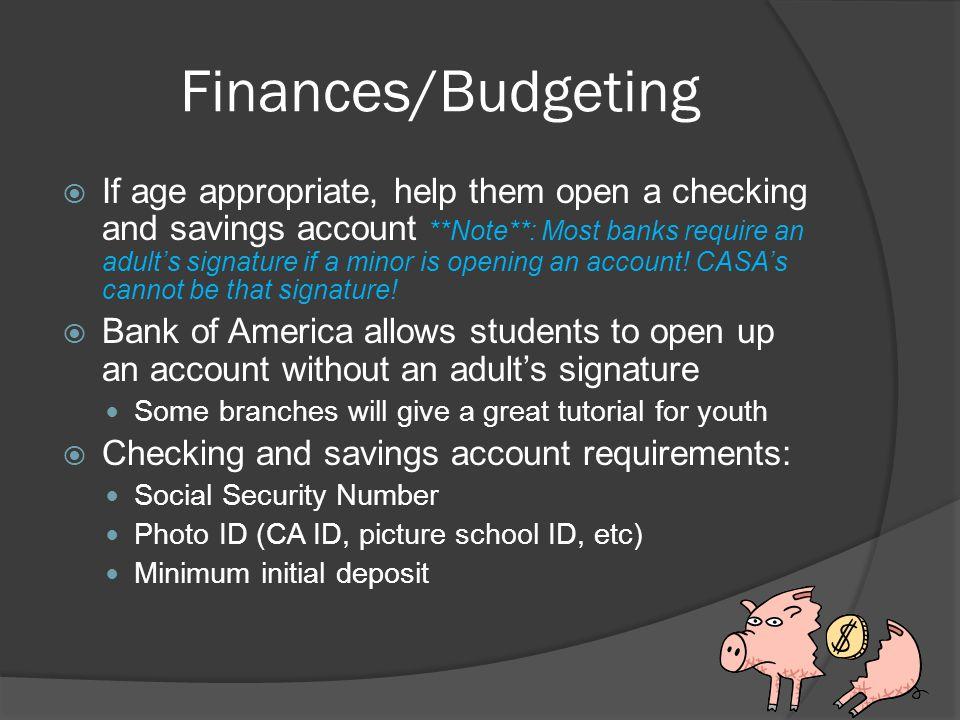 Finances/Budgeting