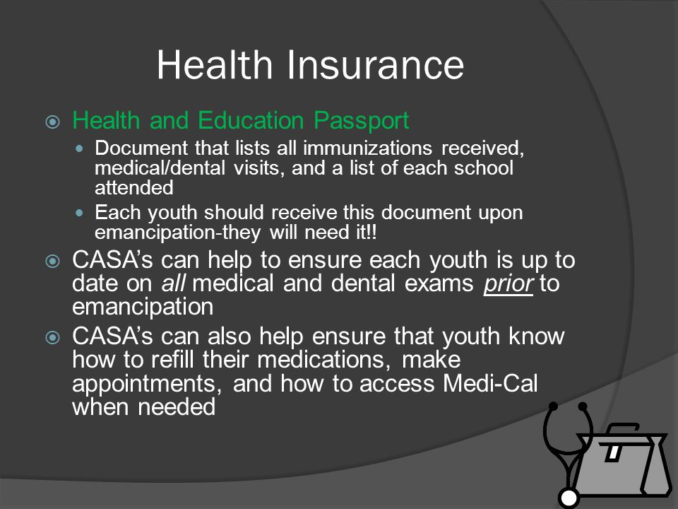 Health Insurance Health and Education Passport