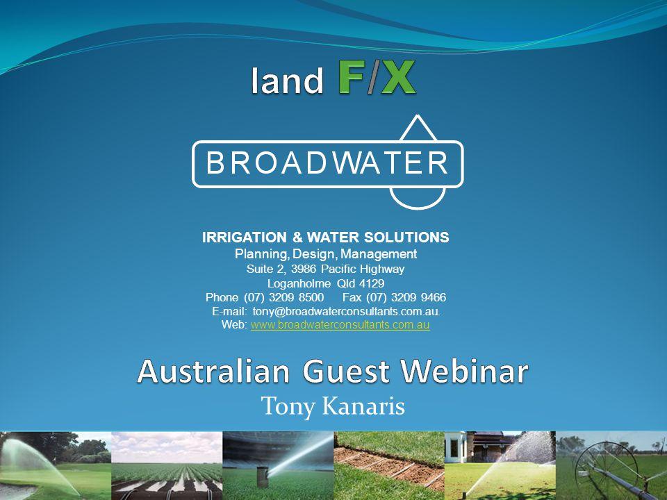 land F/X Australian Guest Webinar