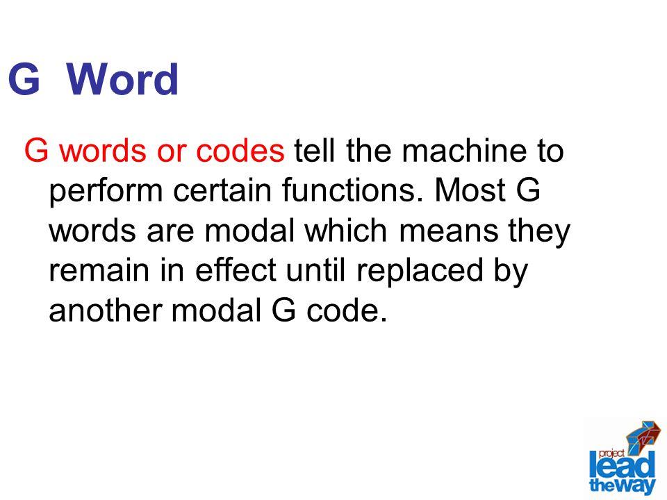 G Word