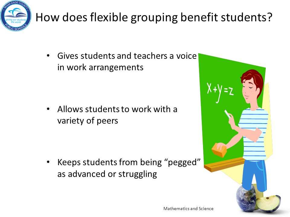 How does flexible grouping benefit students