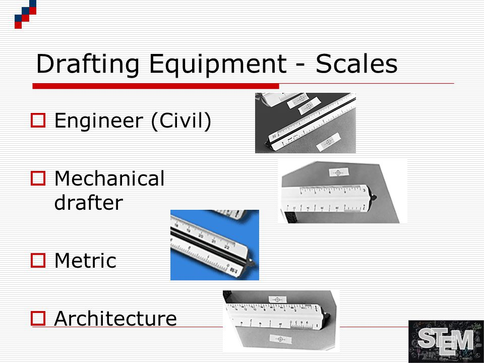 Drafting Equipment - Scales