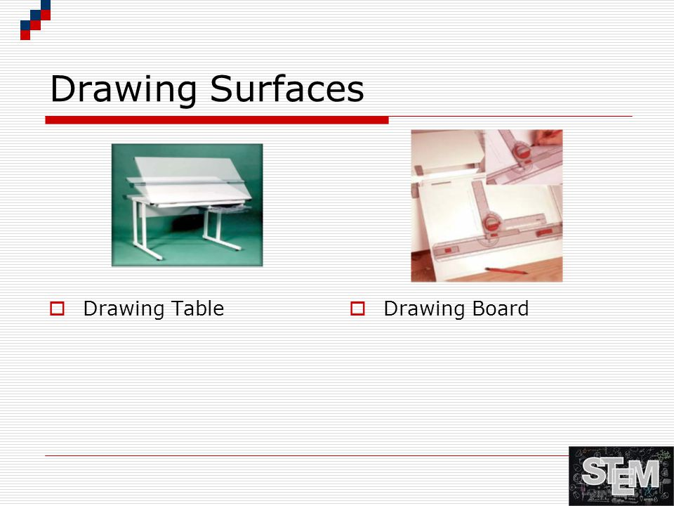 Drawing Surfaces Drawing Table Drawing Board
