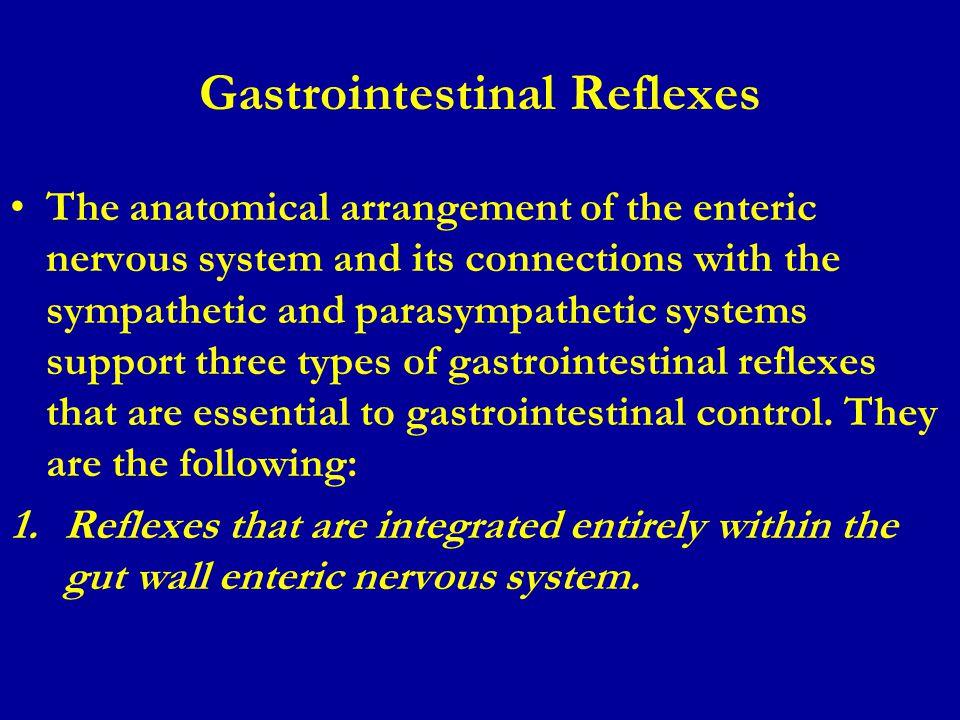 Gastrointestinal Reflexes