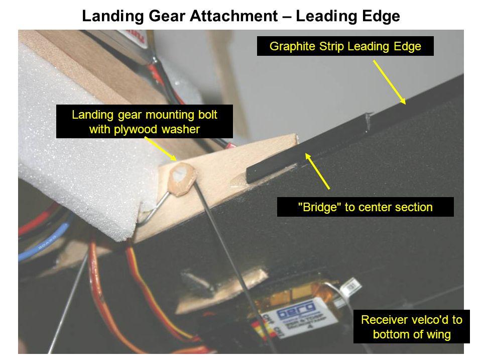 Landing Gear Attachment – Leading Edge