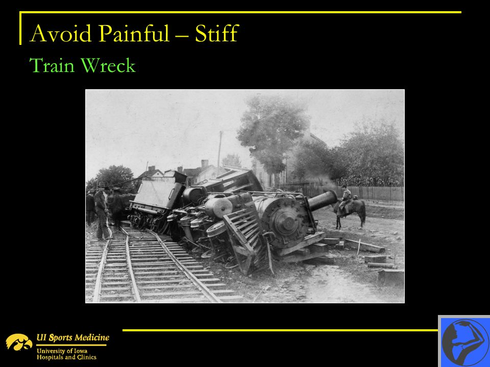 Avoid Painful – Stiff Train Wreck