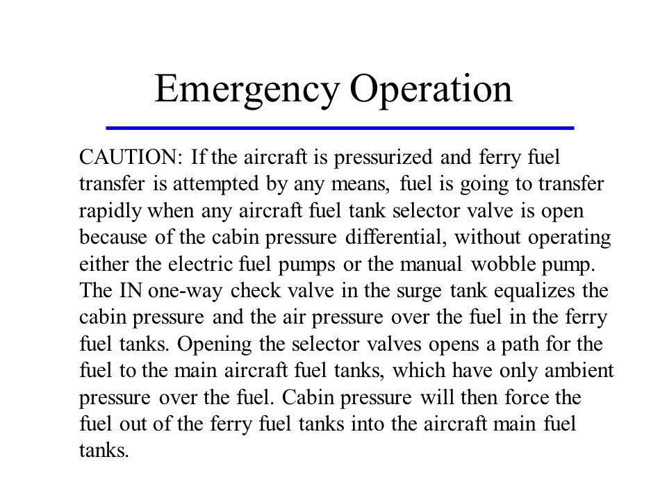 Emergency Operation