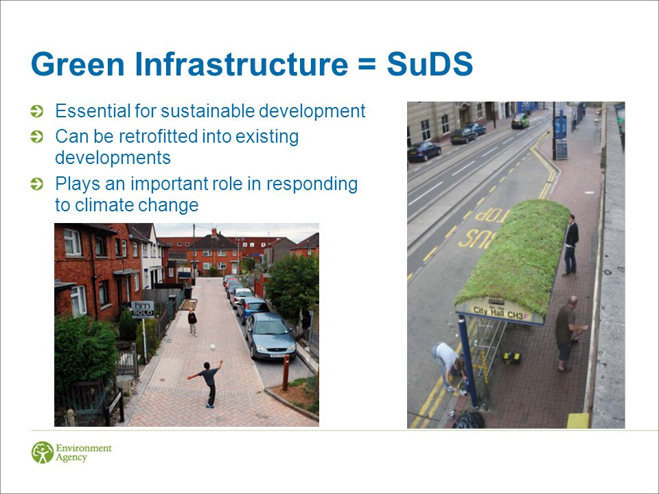 Green Infrastructure = SuDS