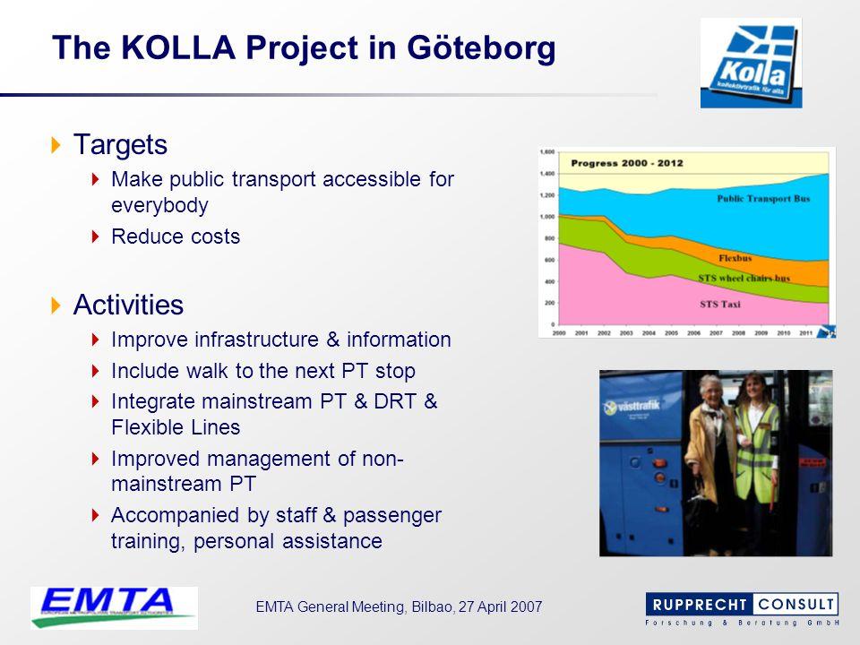 The KOLLA Project in Göteborg