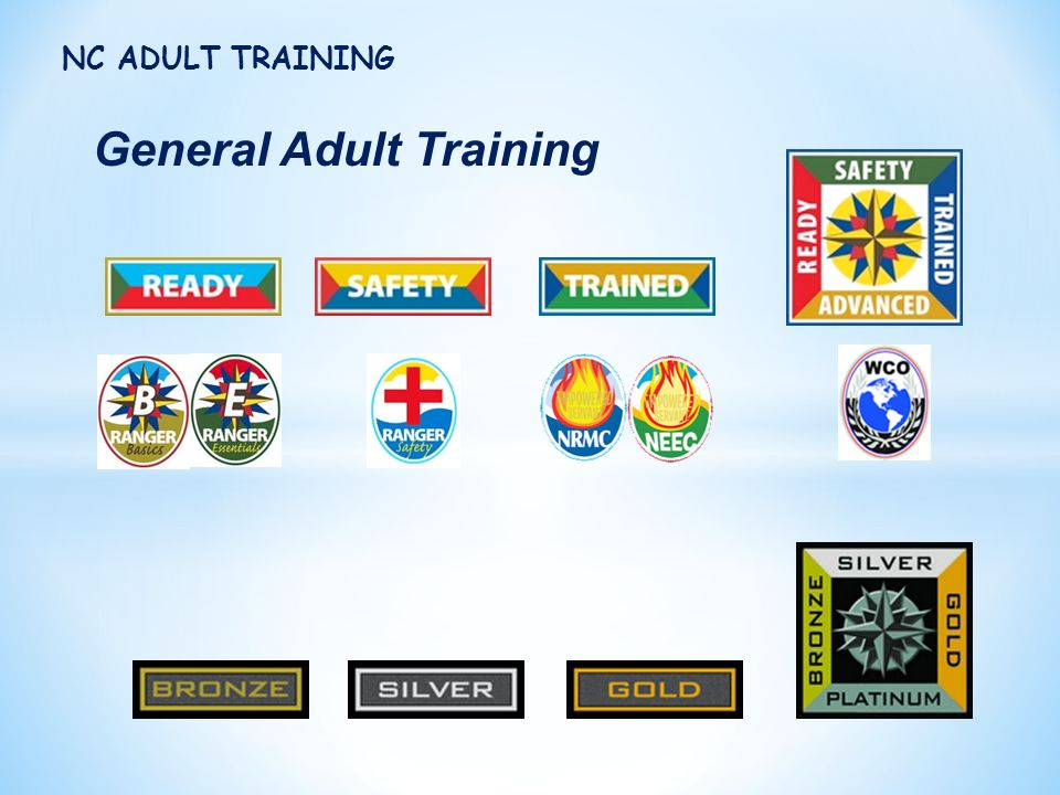 General Adult Training