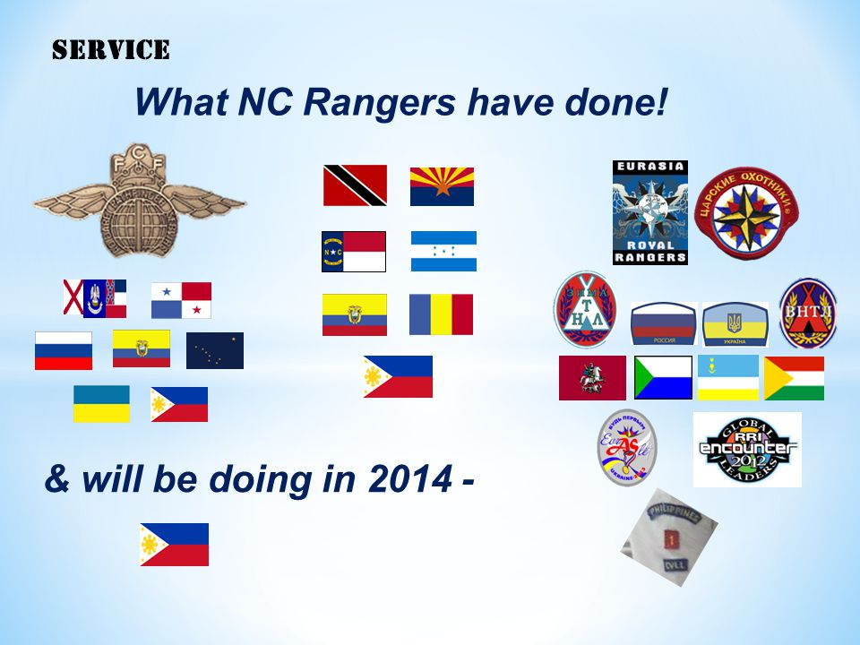 What NC Rangers have done!