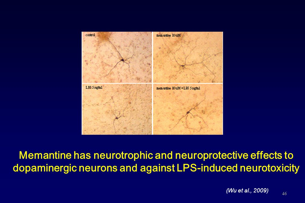 Memantine has neurotrophic and neuroprotective effects to dopaminergic neurons and against LPS-induced neurotoxicity