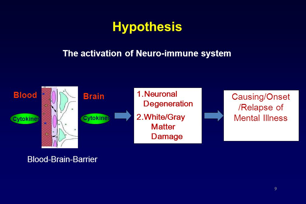 The activation of Neuro-immune system