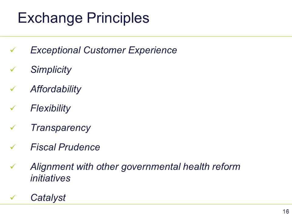 Exchange Principles Exceptional Customer Experience Simplicity