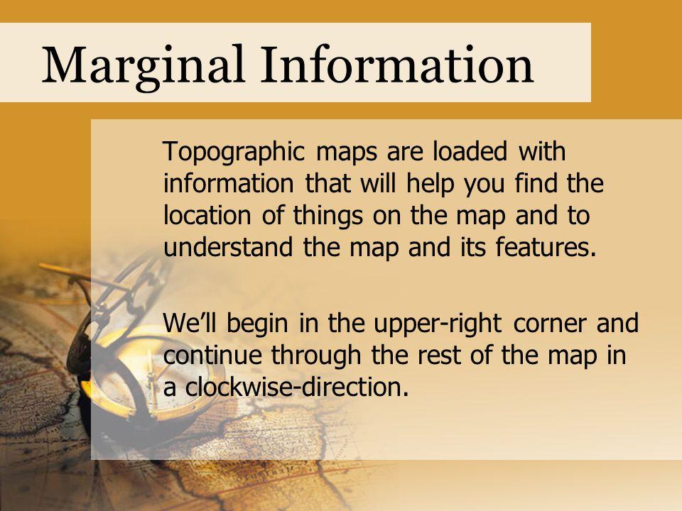 Marginal Information
