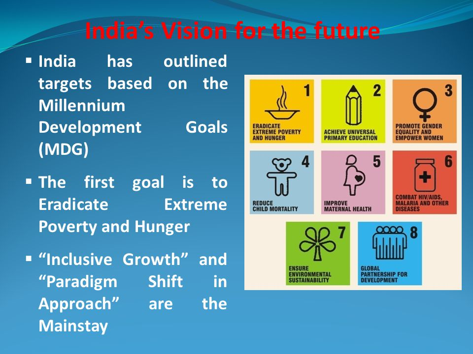 India's Vision for the future