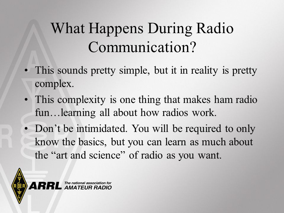 What Happens During Radio Communication