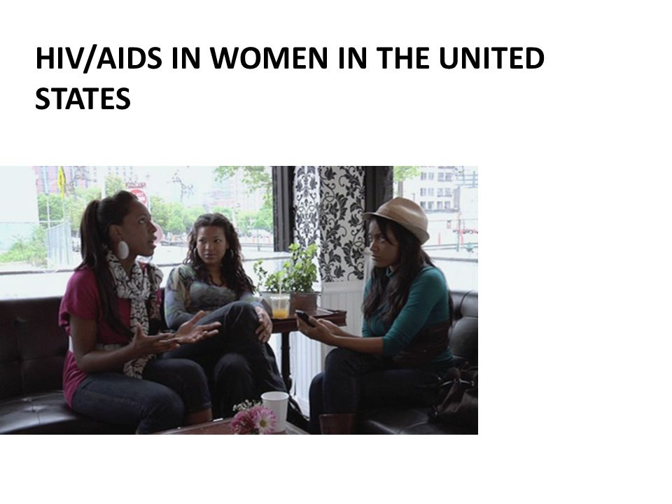 HIV/AIDS in Women IN THE UNITED STATES
