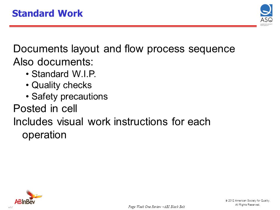 Documents layout and flow process sequence Also documents: