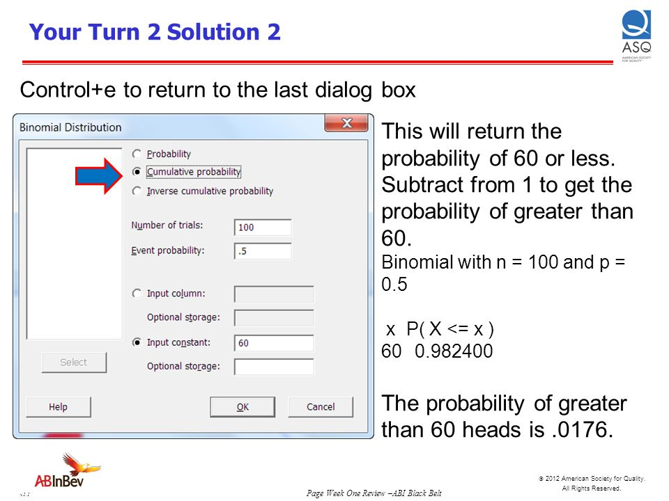 Control+e to return to the last dialog box