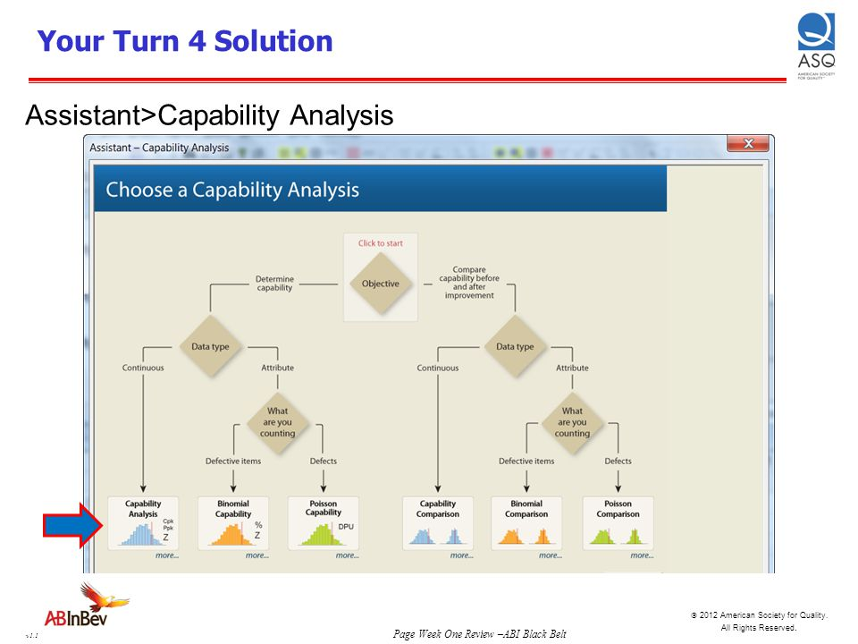 Your Turn 4 Solution Assistant>Capability Analysis
