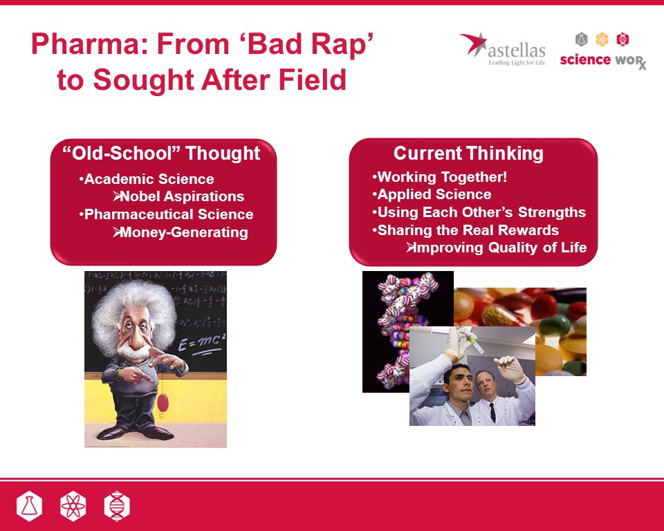Pharma: From 'Bad Rap' to Sought After Field
