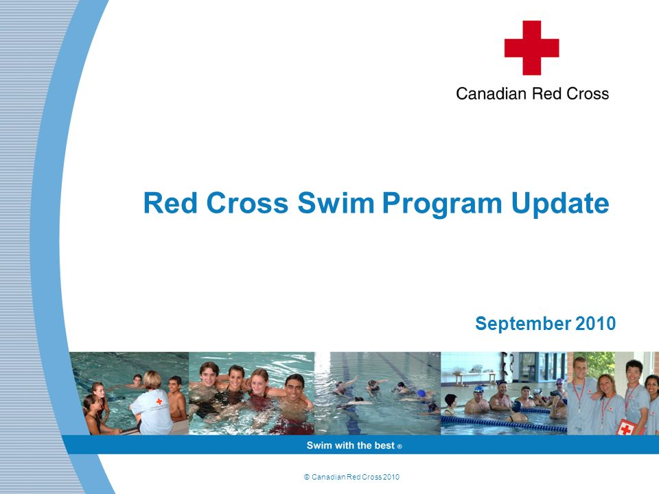 Red Cross Swim Program Update