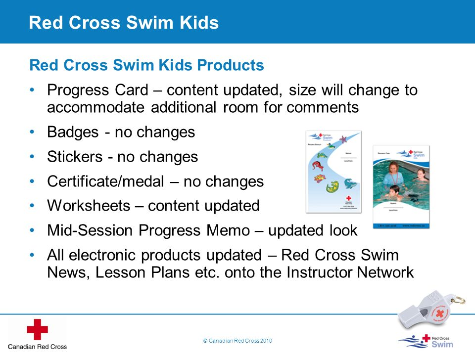 Red Cross Swim Kids Red Cross Swim Kids Products
