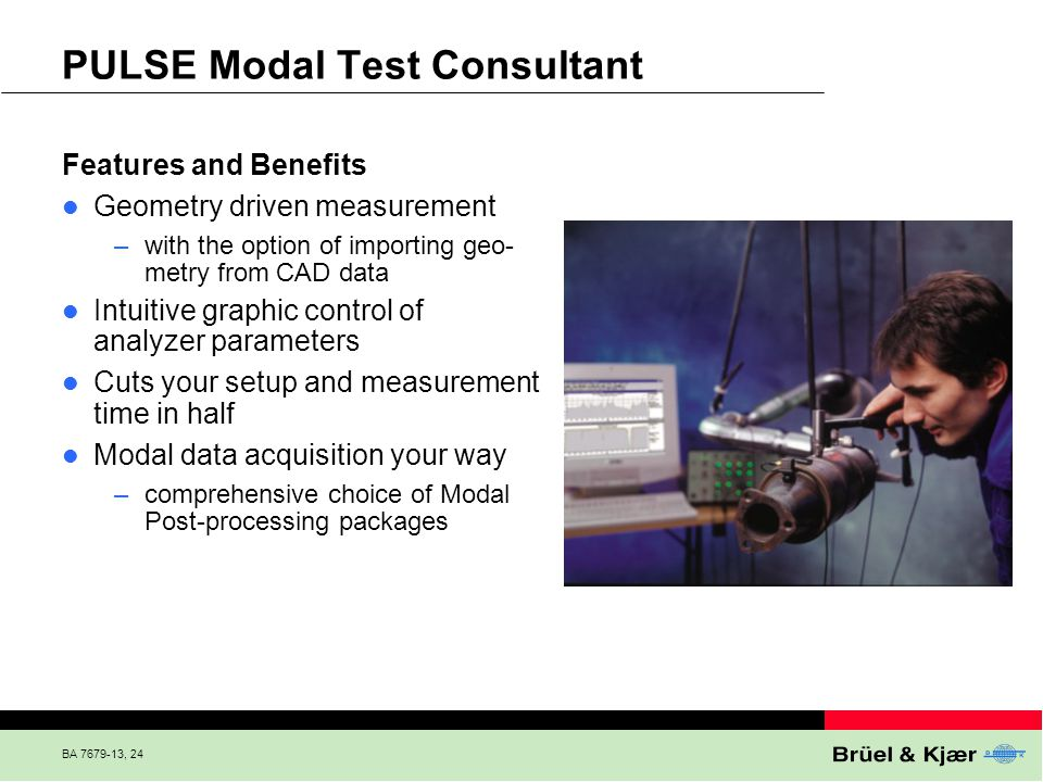 PULSE Modal Test Consultant